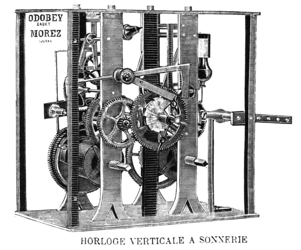 edifice horloge
