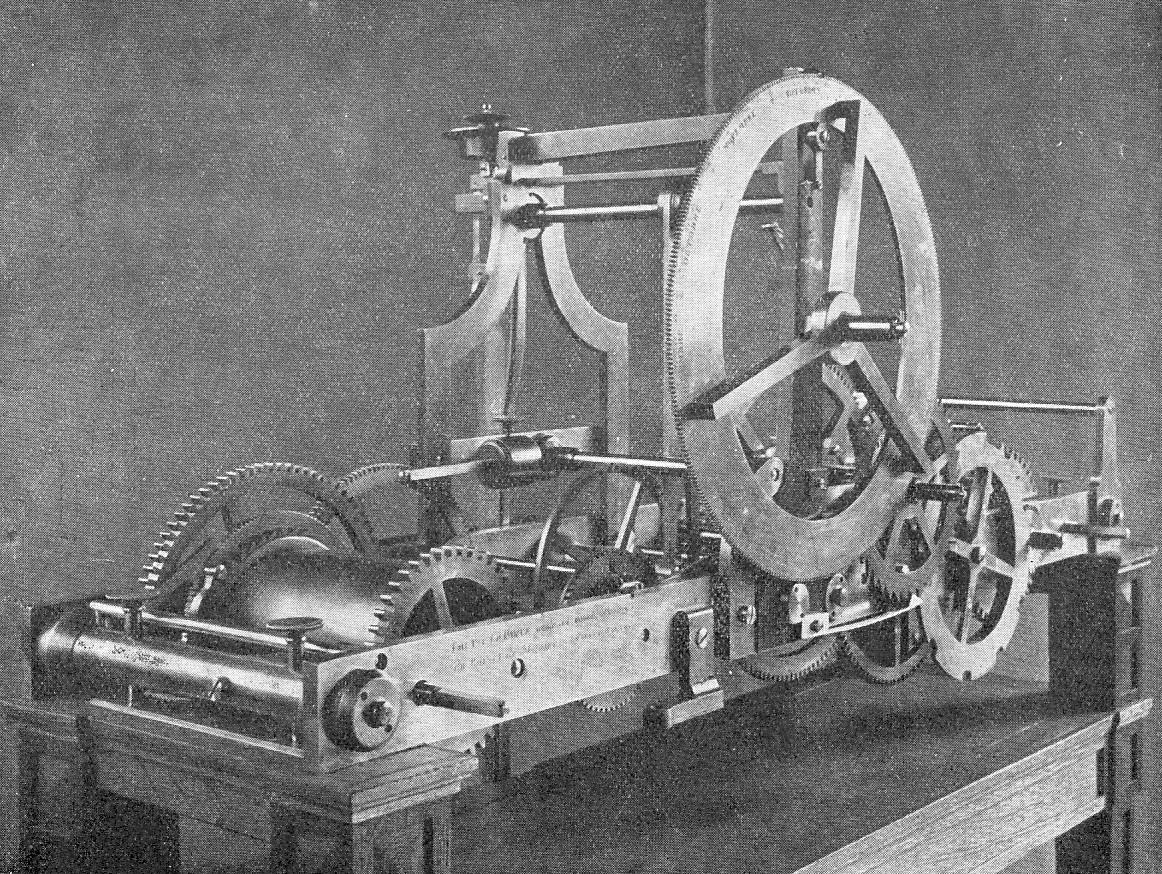 invention de l horloge